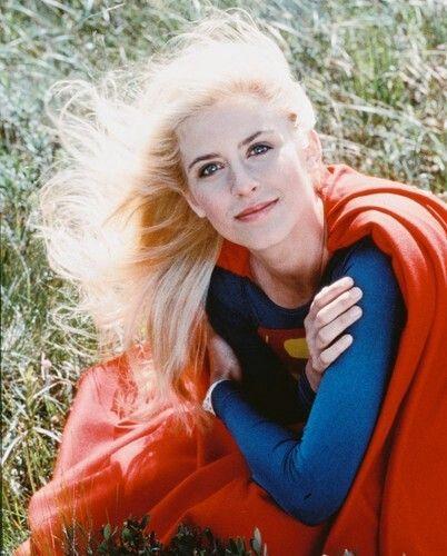 Helen Slater as Supergirl.