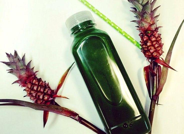Urban Remedy 'Kale Supreme' via Leigh Campbell - Cosmopolitan Australia #coldpressed