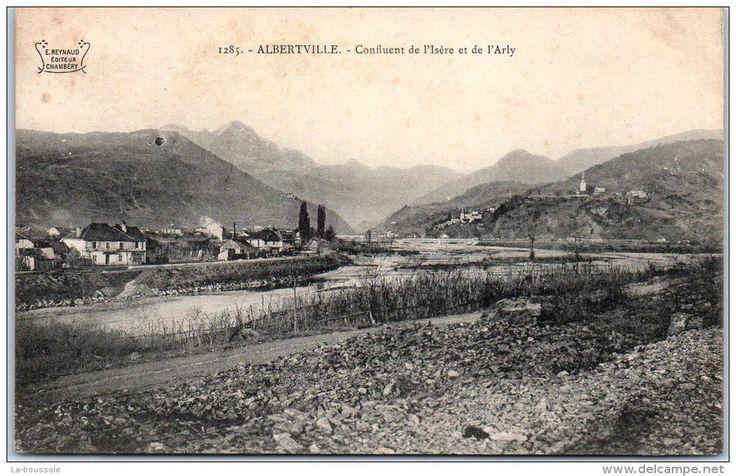 CPA confluence de l'Arly et de l'Isère