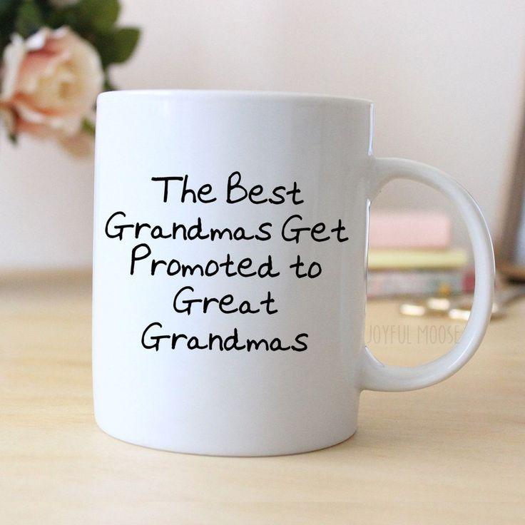 Great Grandma Coffee Mug - Pregnancy Announcement Gift - Great Grandmother Coffee Mug