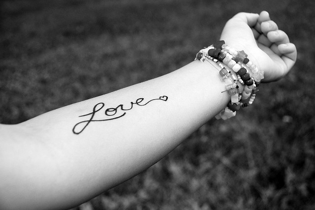 To Write Love On Her Arms... <3