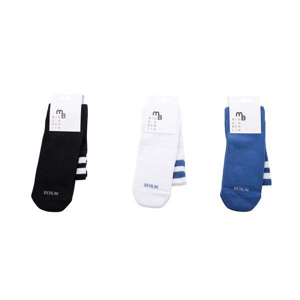 Unsere neuen Sportsocken aus langstapligen, hochwertigen Bio-Baumwolle mit Plüschsohle für mehr Dämpfung beim Laufen, einem elastisches Band am Fußgewölbe