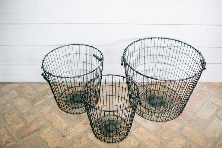 Black Laundry Basket || These simple and durable black baskets are handmade and perfect for gathering laundry, children's toys, or throw blankets by the couch!