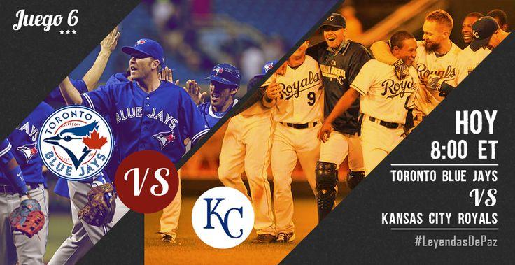 Todos los ojos están puestos en el partido de hoy  #BlueJays vs #KCRoyals #LeyendasDePaz #OwnOctober #MLB