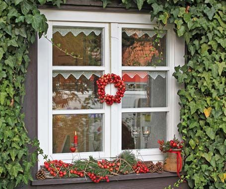 38 kuratierte fenster ideen von lucke2303 weihnachtsdekoration weihnachten und blumen vase. Black Bedroom Furniture Sets. Home Design Ideas