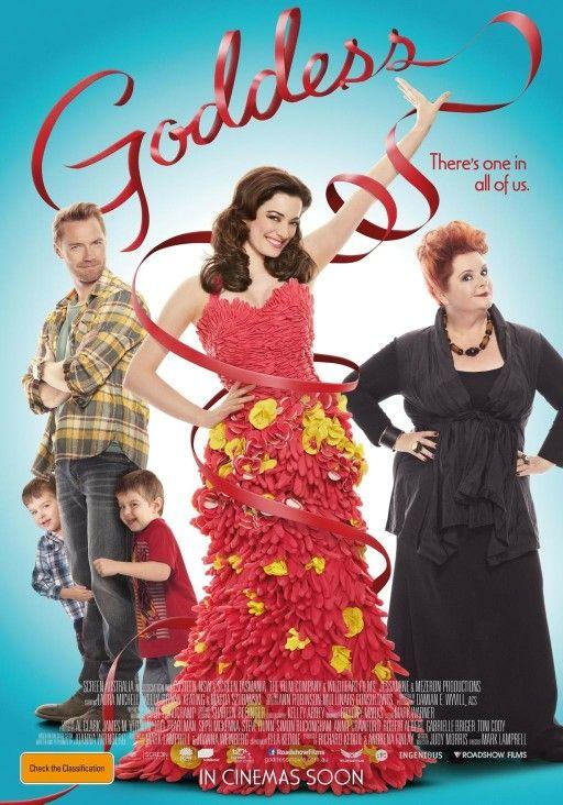 Goddess movie poster (2013)starring:Magda Szubanski,Laura Michelle Kelly.