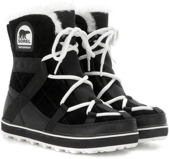 Glacy Explorer Shortie Suede Boots Boots Suede Boots Black Suede Boots