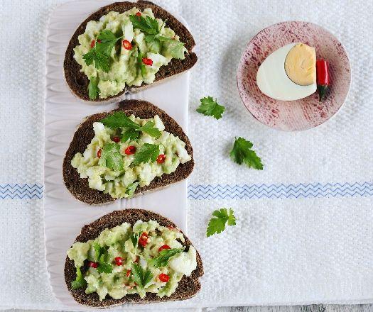 Avokádós-csilis tojáskrém Recept képpel - Mindmegette.hu - Receptek