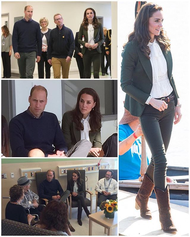 The Duke and Duchess paid a quick visit to the Haida Gwaii Hospital and Care Centre. The centre has recently undergone a $50 million upgrade which means that the locals can receive all of their healthcare needs on the island, rather than traveling to the mainland. The design also enables healthcare services to incorporate Haida Nation traditions and customs. William and Kate met with residents in the common room to learn about how the services have benefitted them and joined a discussion…