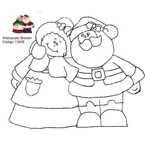 Papai e Mamãe Noel.