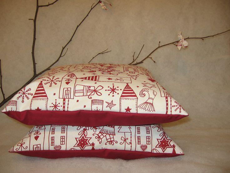 povlak na polštář - vánoční - velikost na polštářek 40 x 40 cm