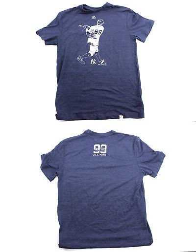 Baseball Shirts and Jerseys 181336  Majestic New York Yankees Aaron Judge 99  Silhouette Men S Navy Shirt -  BUY IT NOW ONLY   24.95 on  eBay  baseball  ... 57d2b32b6