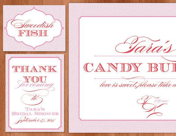 printables | Candy Bar | Pinterest | Jars, Signs and Candy ...