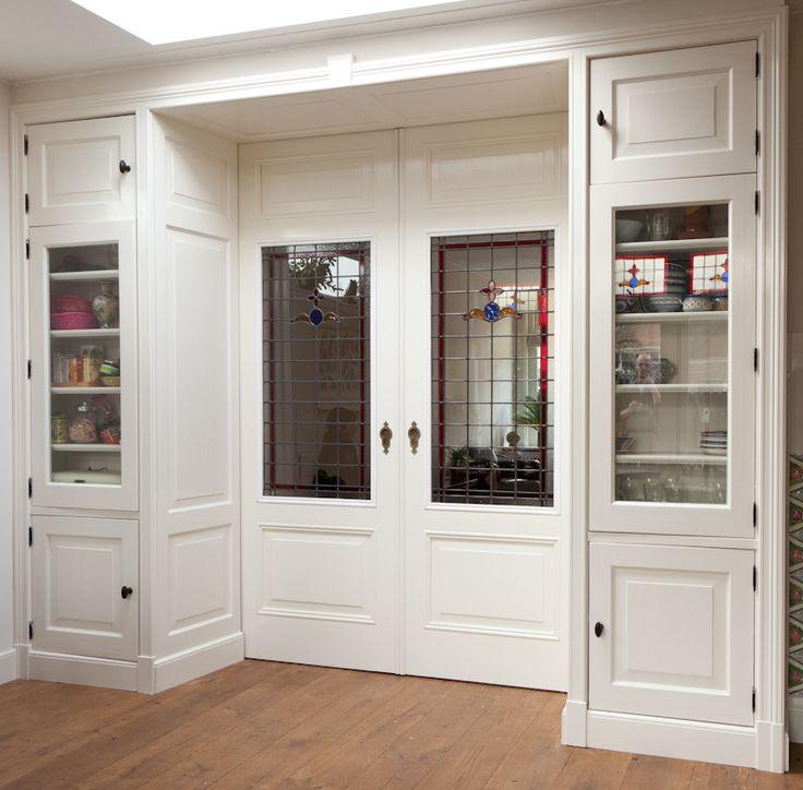 Kamer en suite kast & deur gemaakt uit massief grenen