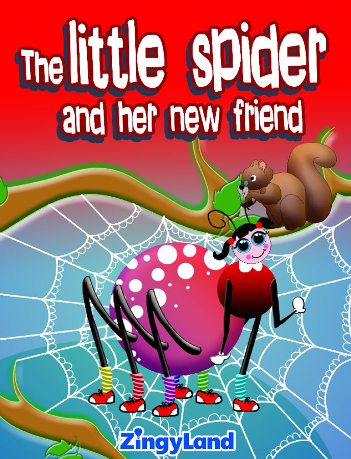 "Download our new story ""The little spider and her new friend"" and get for FREE 3 activities NOW!"