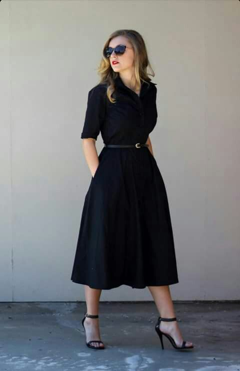 409 best images about The Modest Black Dress on Pinterest | Ralph ...