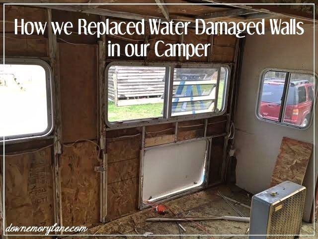 How to Replace Camper Walls