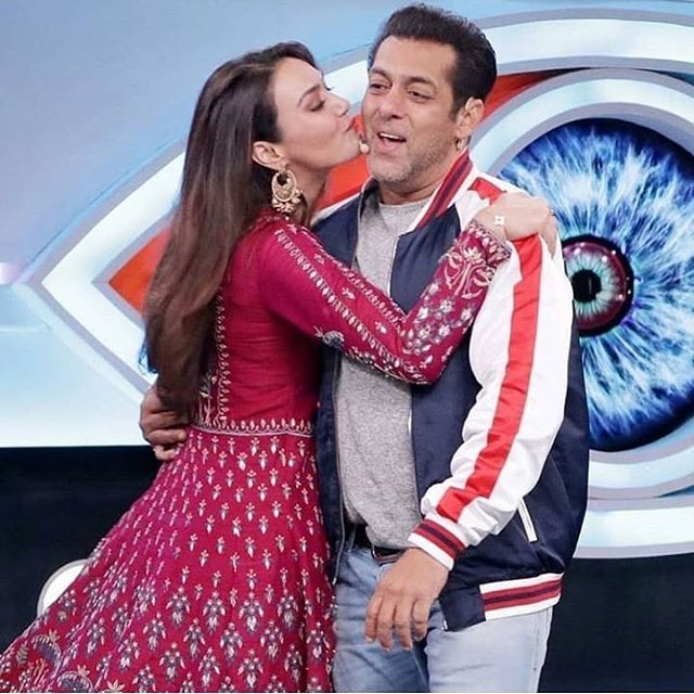With Preity Zinta Salman Khan Photo Preity Zinta Bollywood