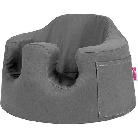 Bumbo - Baby Seat Cover, Twill Gray