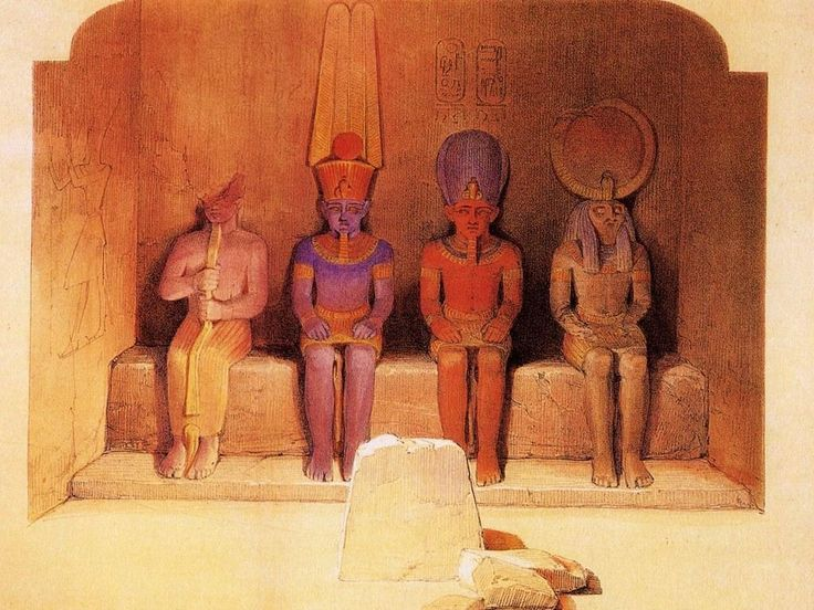 25 best images about david roberts on pinterest egypt for Egyptian mural paintings