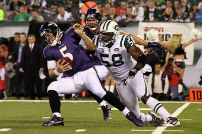 NFL FOOTBALL TICKETS: Baltimore Ravens at New York Jets Tickets
