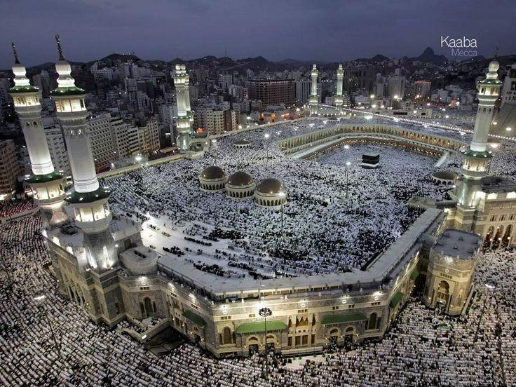 Masjid Al-Haram, Makkah http://www.acenature.com/most-beautiful-mosques-in-the-world/