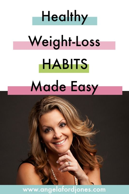 Small changes. Repeated Daily. New Habits. Want to learn how to lose weight and keep it off?  Dr. Angela Jones, Weight-Loss Expert