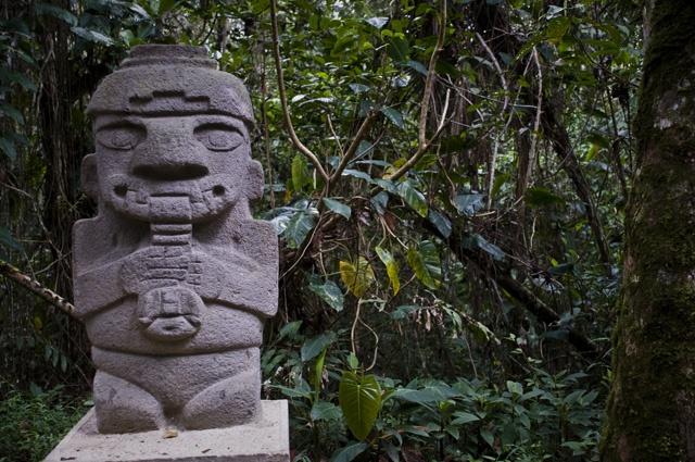 San Agustin, Archaeological Park. Colombia