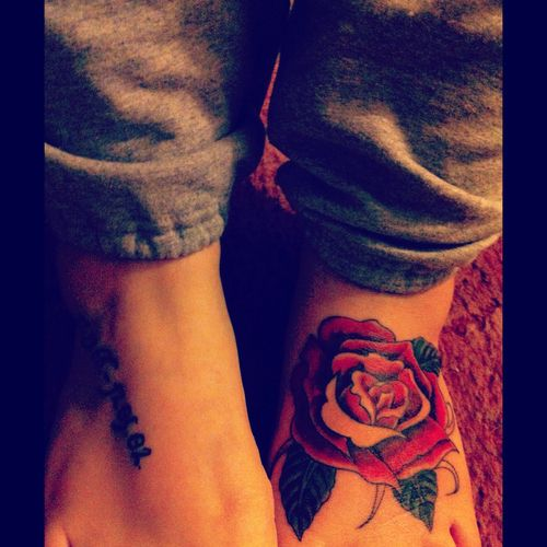 10 Foot Rose Tattoo Designs: 1000+ Ideas About Tattoos On Foot On Pinterest