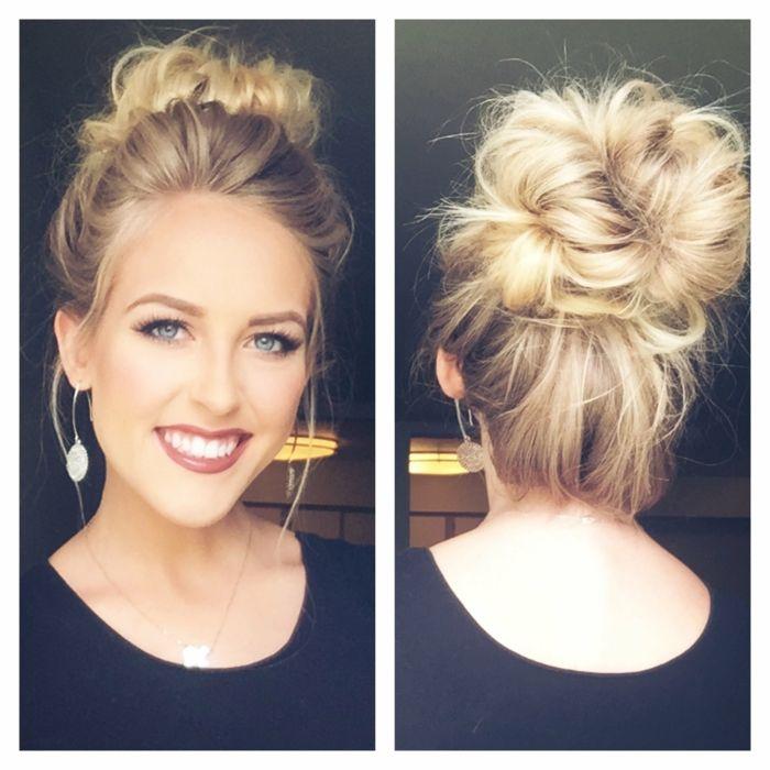 1001 Ideen Fur Messy Dutt Frisur Zum Nachmachen Messy Hairstyles Hair Type Hairstyle