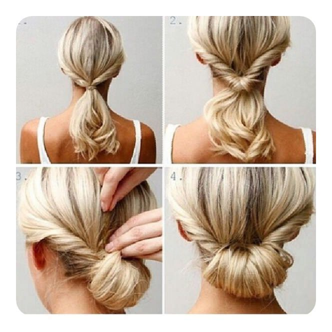 87 Easy Low Bun Hairstyles And Their Step By Step Instructions Medium Hair Styles Easy Hairstyles Bun Hairstyles