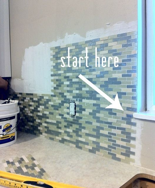 Tiling Around A Window Kitchen Wall Tiles Install