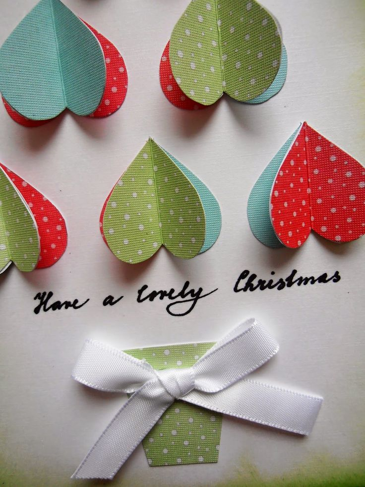 Christmas card from the heart