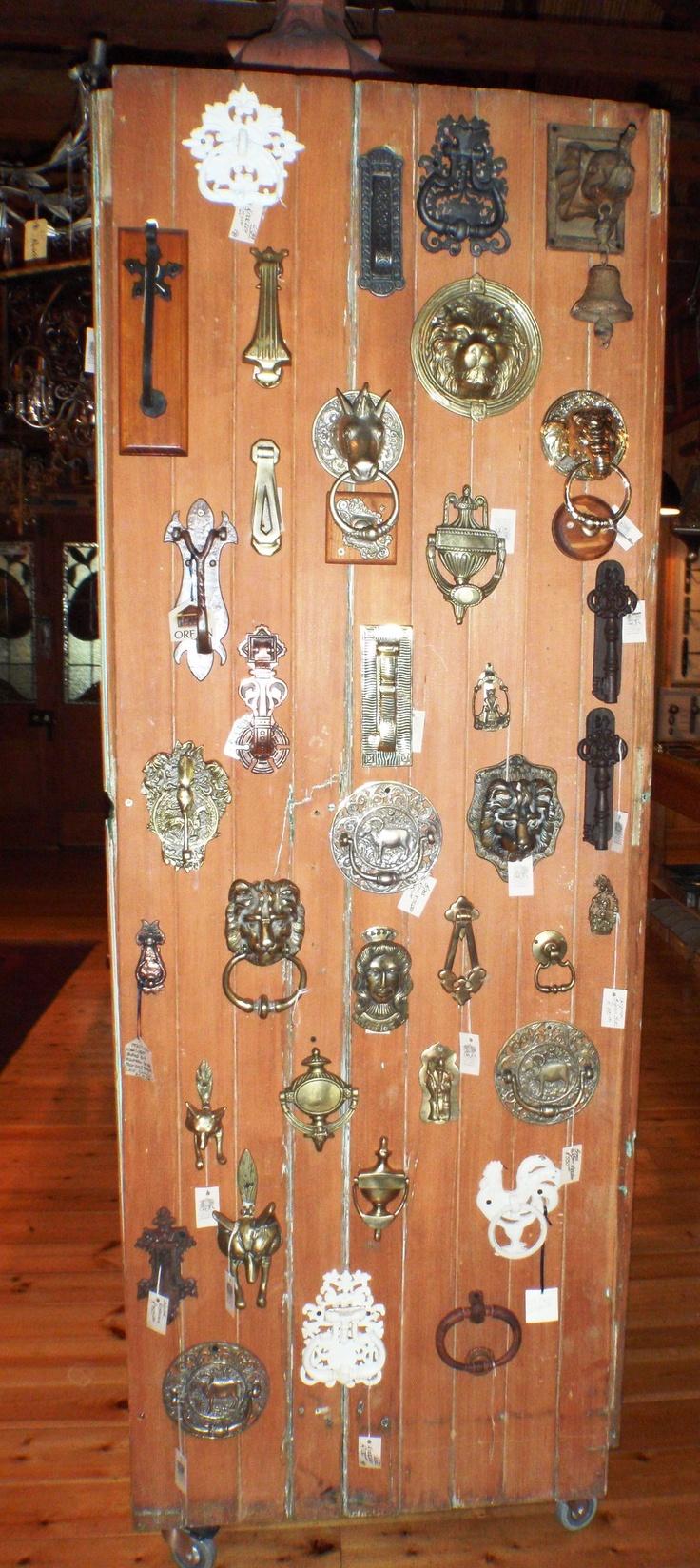 The door knocker collection