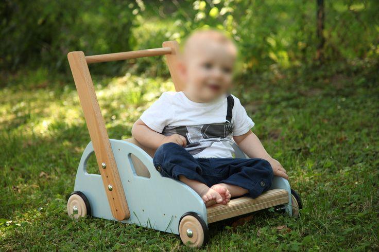 Lauflernwagen_Childswalker trolley - Schritt für Schritt Anleitung (german) - you'll find an english How To Build A Child's Walker Trolley Tutorial here - http://www.bunnings.com.au/diy-advice/family-craft/kids/how-to-build-a-child-walker-trolley