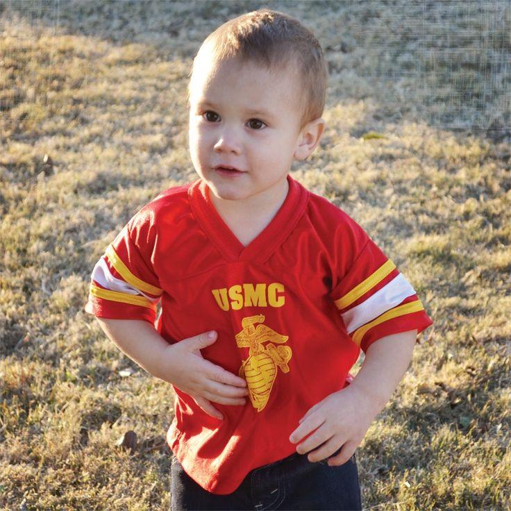 USMC Toddler/Youth Football Jersey