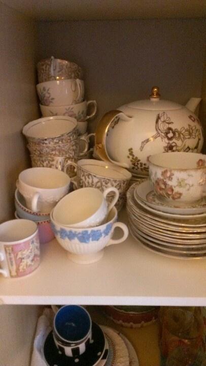 Crockery- cups