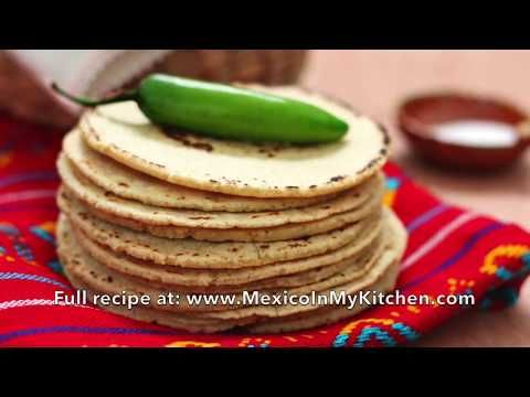 Easy step by step photo tutorial and video to enjoy homemade corn tortillas. You only need 2 ingredients. If you want to learn how to make corn tortillas from scratch, you have arrived at the right place. This step by step tutorial will guide you all the way to make your own corn tortillas at home.