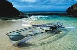Clear Blue Hawaii® Molokini 2 - Person Kayak        Transparent two-passenger kayak mаdе out οf durable polycarbonate material.