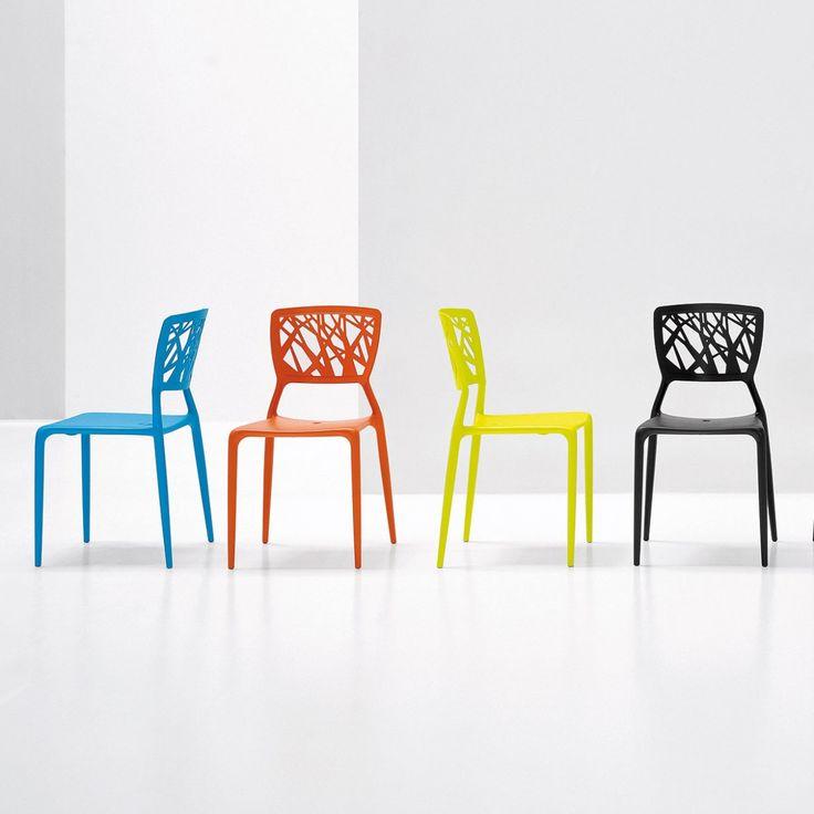 Sedia viento design deco chaise empilable e chaise for Sedie xo design