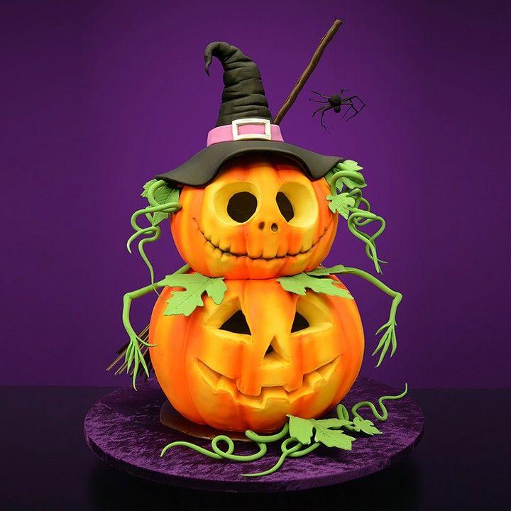 Serdar Yener Yeners Way On Instagram Halloween Pumpkins Cake