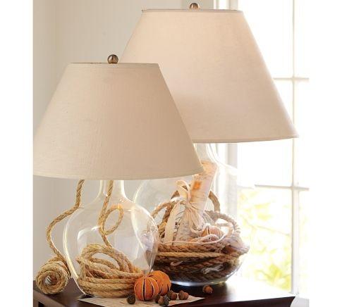 7 Best Glass Lamp Images On Pinterest