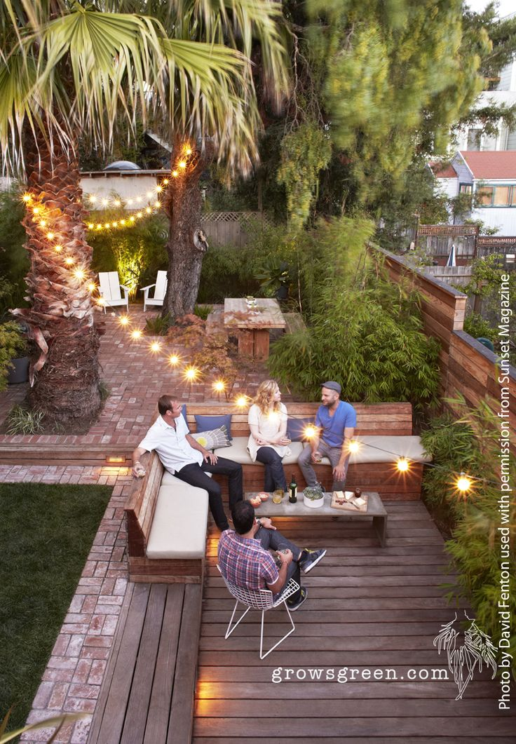 Outdoor Patio Ideas Backyards Landscapes Decks
