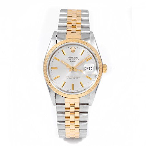 #rolexwatchesformen Rolex Date automatic-self-wind mens Watch 15233 (Certified Pre-owned) Check https://www.carrywatches.com