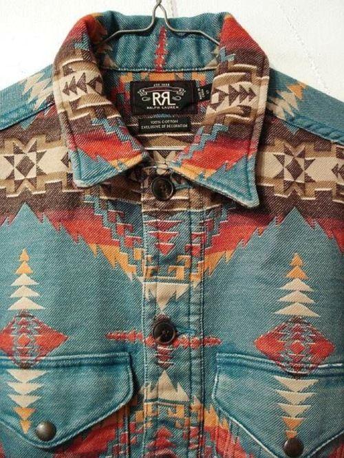 RRL Navajo Print Shirt