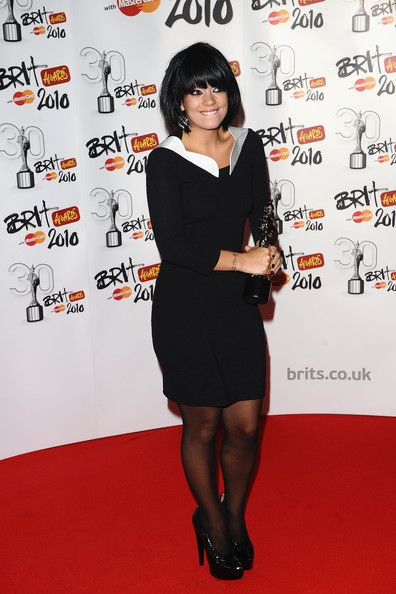 Lily Allen Photos: The Brit Awards - Winners Boards