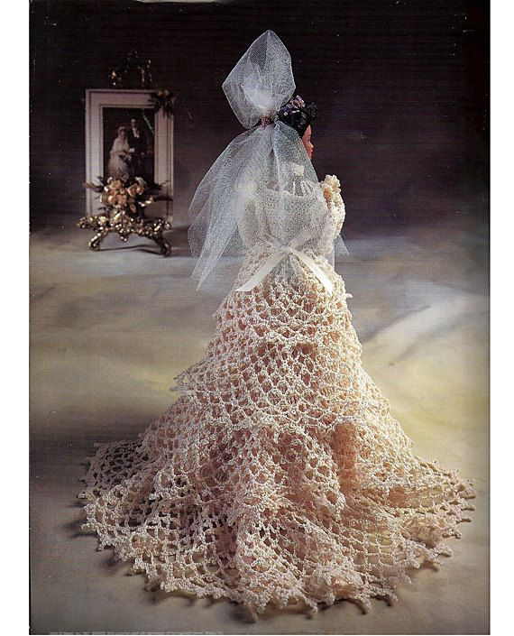 Dolly Bridal Collection: 215 Best Crochet-bride Doll Images On Pinterest