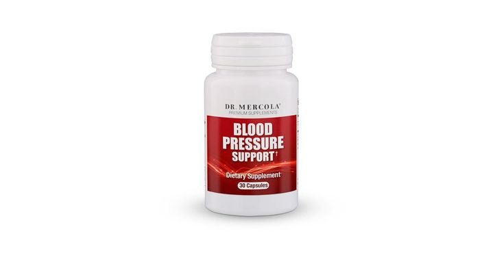 Dr. Mercola's Blood Pressure Support supplement has no toxic chemicals, no side effects, and helps in maintaining healthy normal blood pressure levels.*