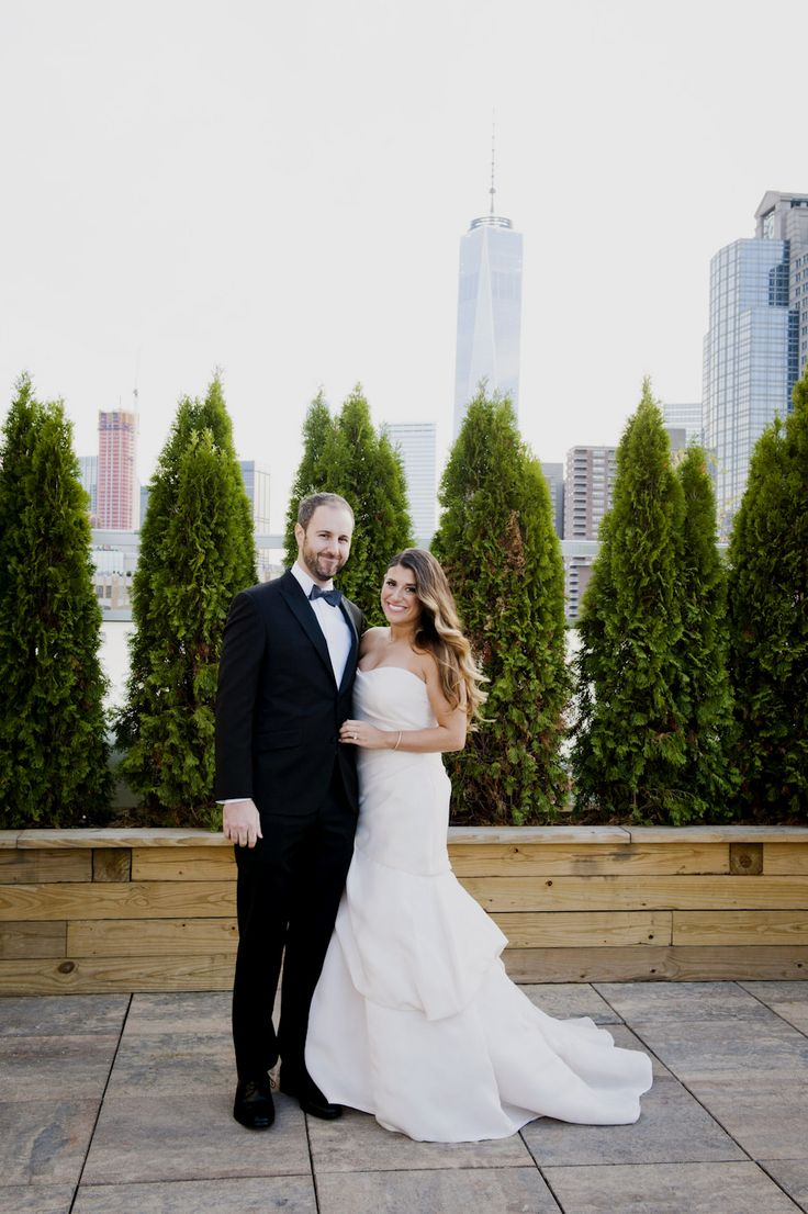 43 best rooftop weddings images on pinterest rooftops rooftop congrats sarah dan on a gorgeous november wedding at tribeca rooftop ombrellifo Image collections