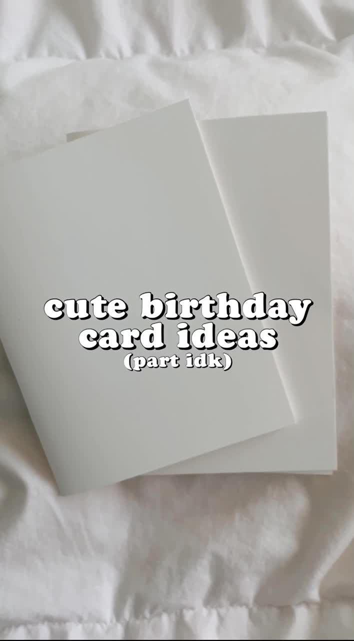 Pin Oleh Maddie Di Card Ideas Kartu Ulang Tahun